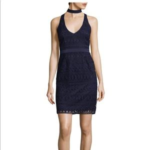 Likely navy lace  dress NWT size 6